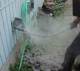 Removing Dryer Vent Buildup Portland Or American Chimney