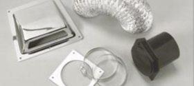 different dryer vent installation parts