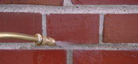 pressure washing chimney