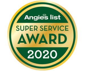 Angie's List Super Service badge